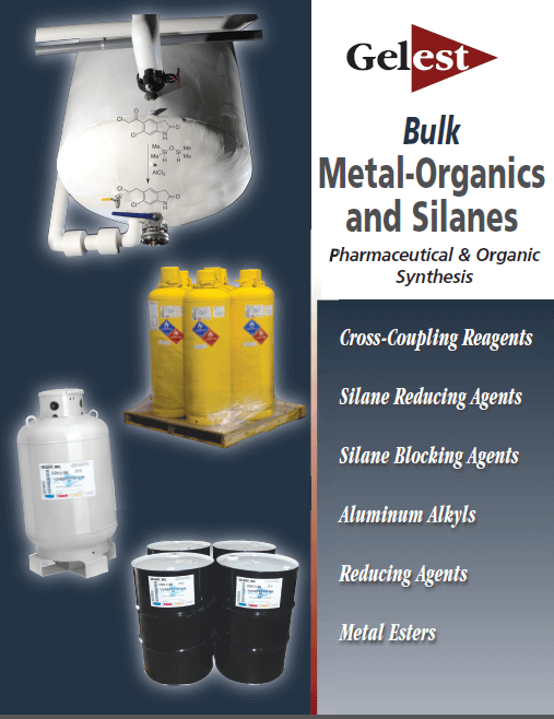 Bulk Metal-Organics and Silanes: Pharmaceutical & Organic Synthesis