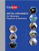 Metal Organics for Materials, Polymers & Synthesis