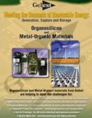 Organosilicon and Metal-Organic Materials