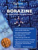 Borazine — A Simple Solution for Boron Nitride